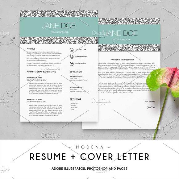 Modena Resume Cover Letter