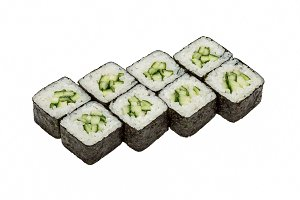 Set of sushi ( maki, rolls).