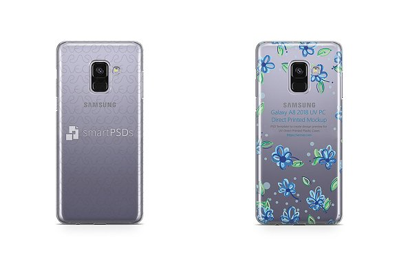 Samsung Galaxy A8 2018 UV PC Clear