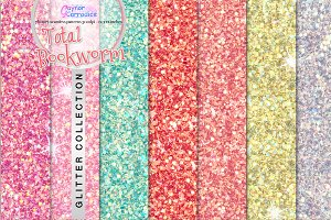 Total Bookworm Glitter Collection