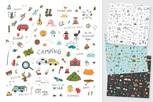 Doodle Camping