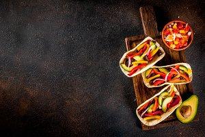 Mexican pork tacos