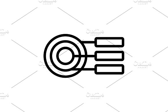 Icon Round Diagrams Business Graph