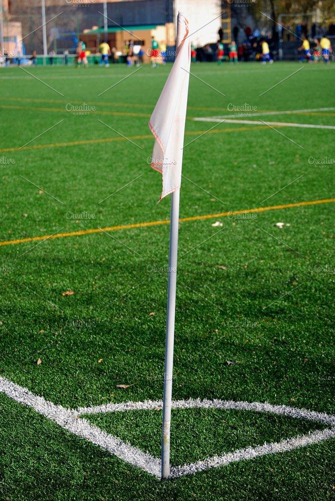 Flag corner soccer.jpg - Sports