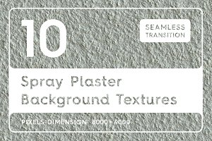 10 Spray Plaster Background Textures