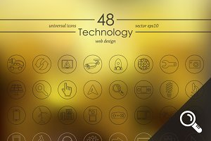 48 TECHNOLOGY icons