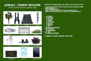 Jungle-Forest Builder