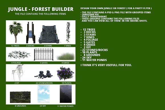 Jungle-Forest Builder