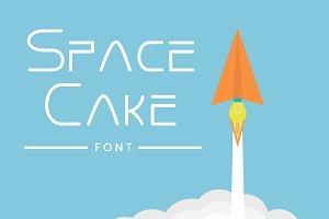 Space cake Typeface
