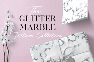 Glitter Marble Texture Collection