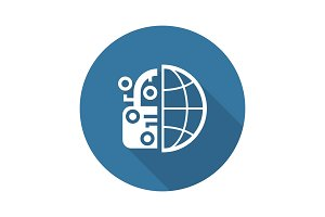 Crypto Protection Network Icon.