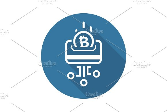 Load Card With Bitcoin Icon