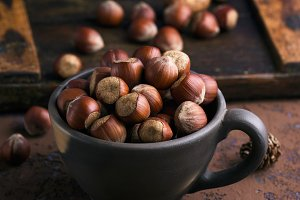 whole hazelnut