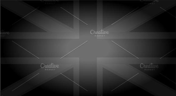 British Flag Faded Vector