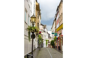 A street in Koblenz city center - Germany