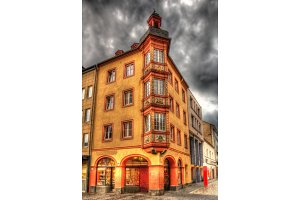 Building in the city center of Koblenz, Germany