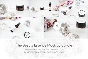 The Beauty Essence Mock up Bundle