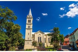 St. Joseph's Roman Catholic Cathedral in Sighisoara, Romania
