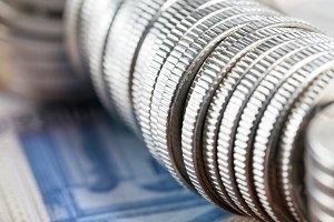 Steel coins