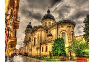 Church of Transfiguration in Lviv, Ukraine