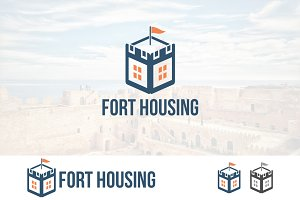 Fort Fortress House Real Estate Logo