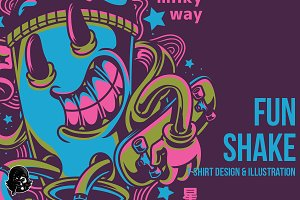 Fun Shake Illustration