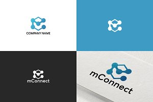 Simple logo design for business
