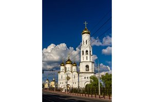 Holy Trinity cathedral of Bryansk, Russia