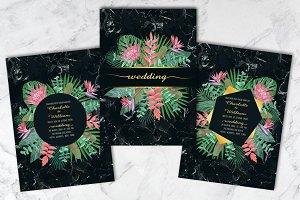 Wedding Tropical Set