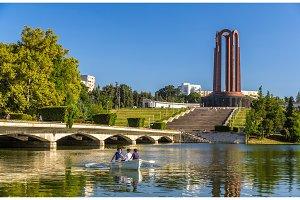 National Heroes Memorial in Carol Park - Bucharest, Romania