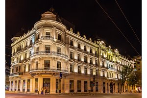 Grand Hotel du Boulevard in Bucharest, a Romanian historic monum