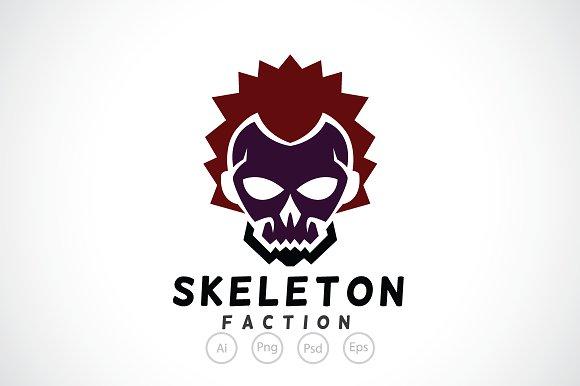 Skeleton Faction Logo Template