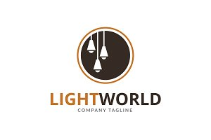 Light World Logo