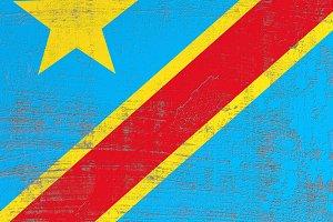 Democartic Republic of Congo flag