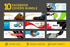 10 Facebook Covers Bundle