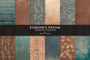 Evening's Patina: Wabi-Sabi Worlds