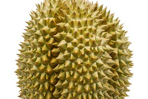 Thai durian fruit isolated