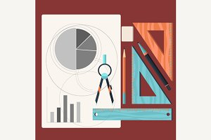 Paper with Charts and Tools Dsigner