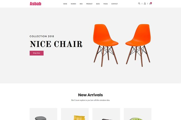 Asbab ECommerce HTML5 Template