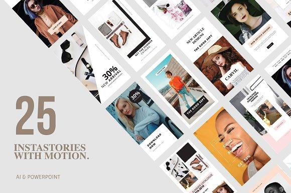 25 Animation Instagram Stories
