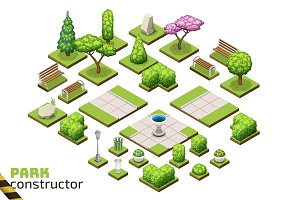 Isometric Park Constructor