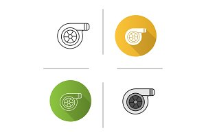 Turbocharger icon