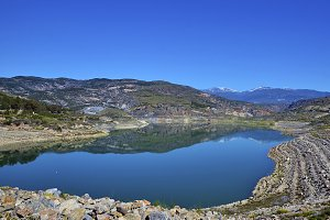 Reservoir in Andalusia