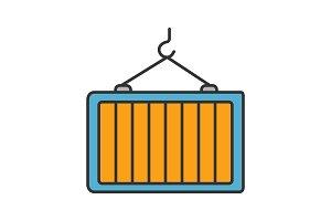 Intermodal container color icon