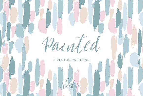 Painted Vector Patterns
