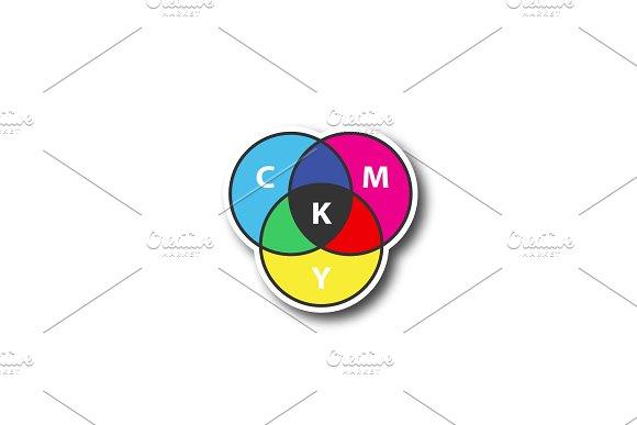 Cmyk Color Model Patch