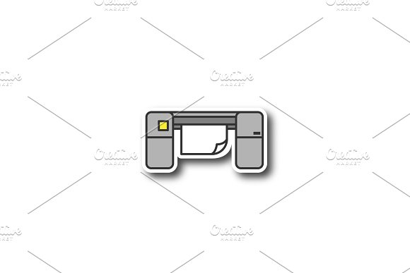 Large Format Printer Patch