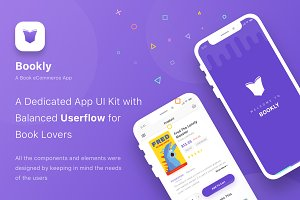Bookly - iOS Sketch App Template