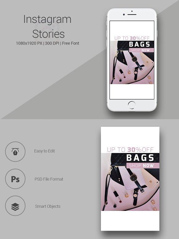 Bag Shop Instagram Stories