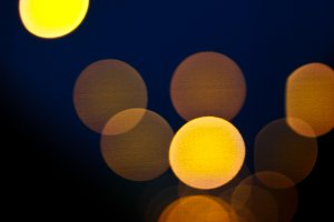 Abstract of light bokeh background